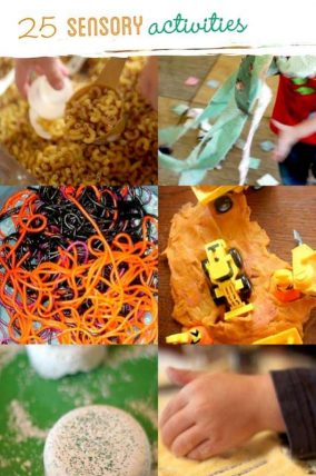25 sensory activities for kids to explore - these are perfect for little ones!
