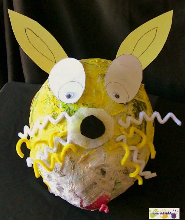 Bunny Easter Craft from Paper Mache