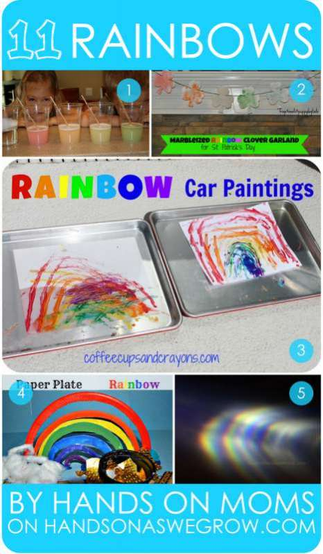 11 very colorful rainbow activities for preschoolers by hands on moms