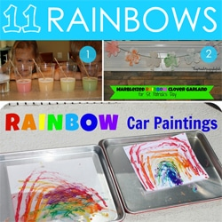 11 Rainbow Activities by Hands on Moms