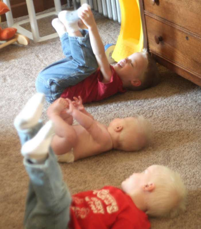Copying the Baby Gross Motor Activity