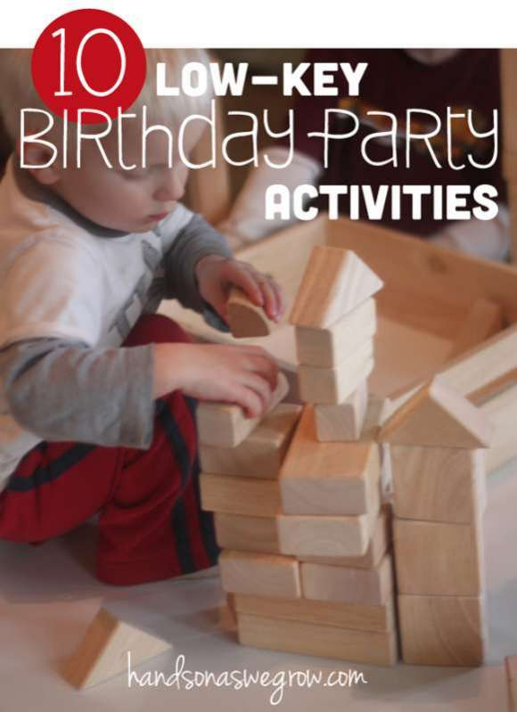 10 Low-Key Birthday Party Activities for Kids