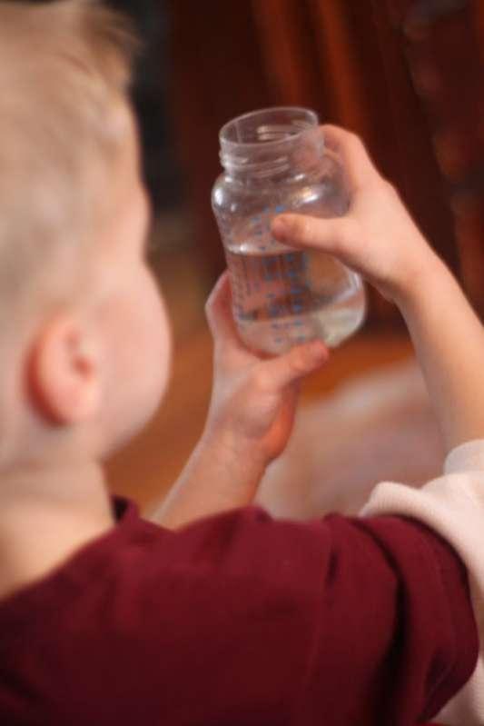 Water & measuring activity