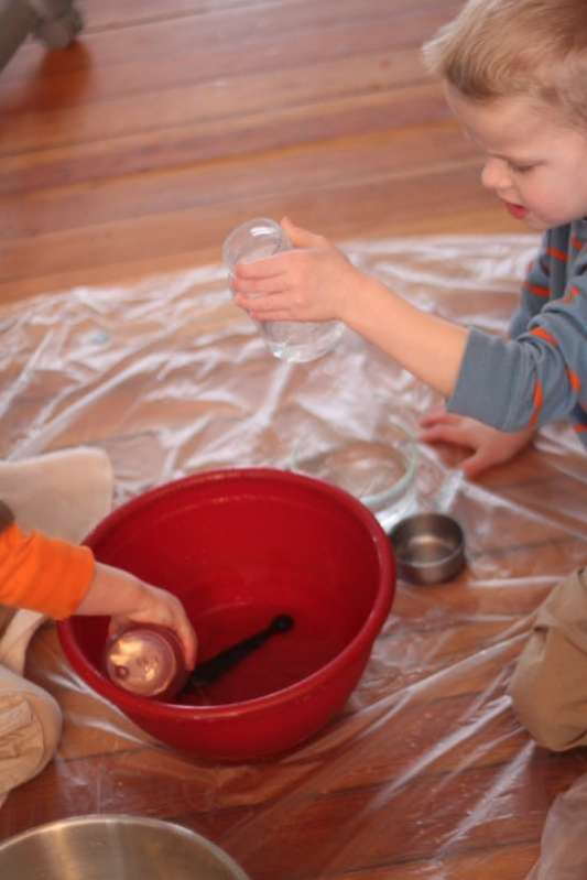 Basic water activity with measuring