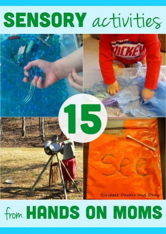15 quick sensory activities from hands on moms