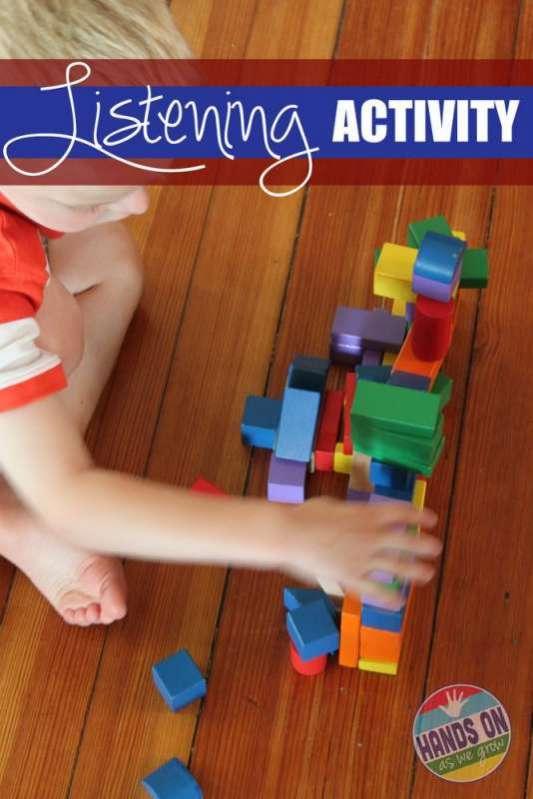 Listening Activity with Blocks