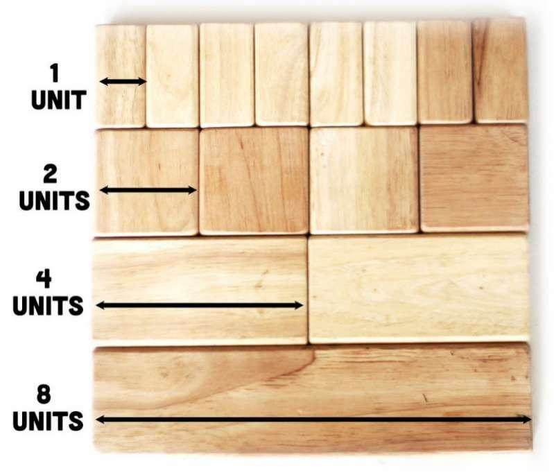 Math Activities for Kids Using School Unit Blocks