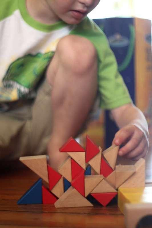 Shape Activity: Sorting Shapes of Blocks