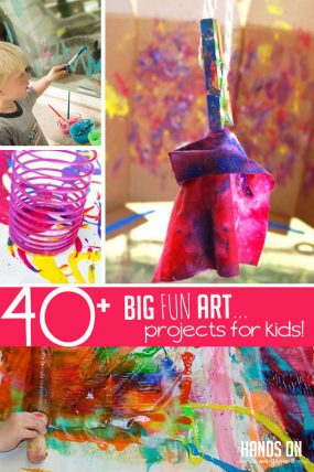 40 Fun Art Projects For Kids