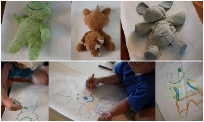 Self Portraits for their ANIMALS First Day of School