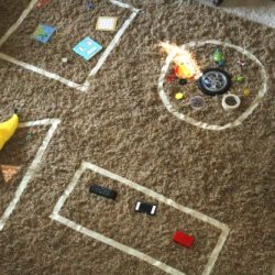 Giant Shape Sort Activity for Toddlers