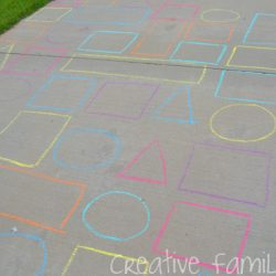Shape Maze Activity for Toddlers