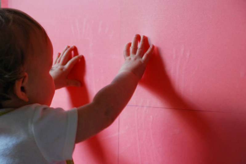 Sensory Wall for Toddlers & Babies on the Move