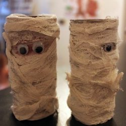 Googly Eye Mummies, 1 of the 12 Googly Eyes Crafts & Activities for Halloween