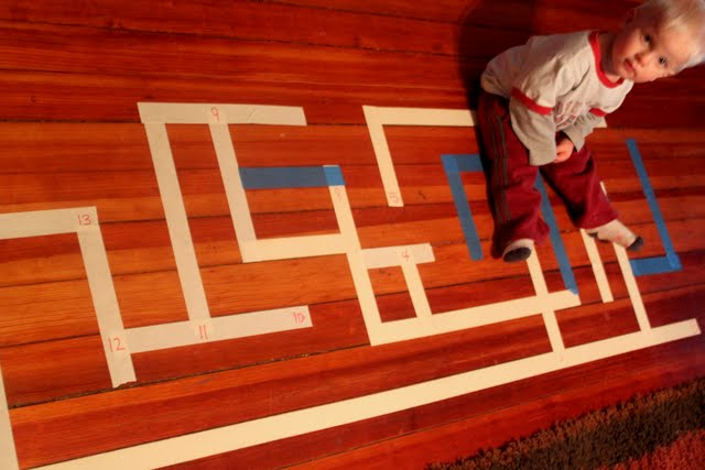 Mazes for preschoolers and kids