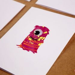 Monster Googly Eye Cards, 1 of the 12 Googly Eyes Crafts & Activities for Halloween