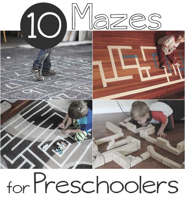 10 Mazes for Preschoolers to Help Learn to Achieve Their Dreams