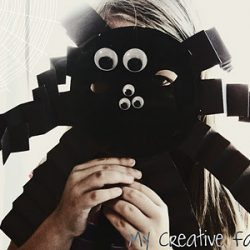 Spider Mask, 1 of the 12 Googly Eyes Crafts & Activities for Halloween
