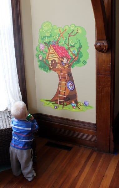 Wallzical Searching Tree Wall Decal for kids