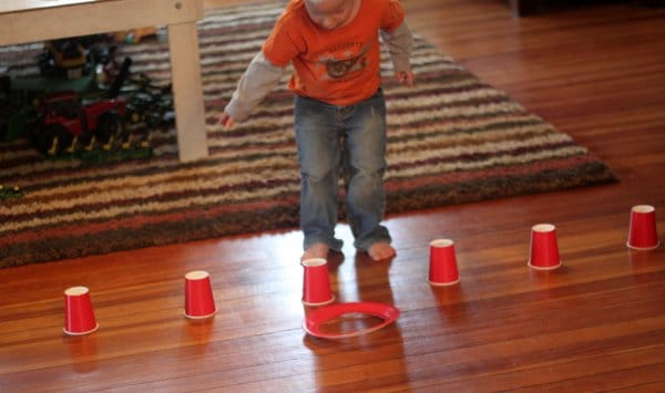 Ring toss, or ring drop