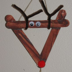 Simple Reindeer Craft