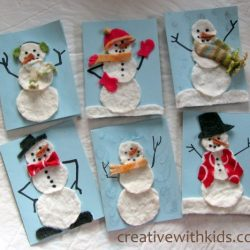 Felty Snowman Cards