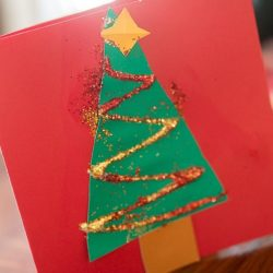 Shape Christmas Tree Cards