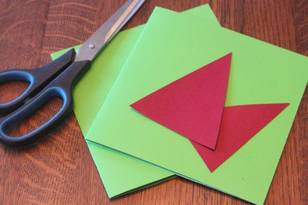 Santa hat Christmas card setup