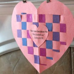 Weave love into your crafting with this heart from True Aim