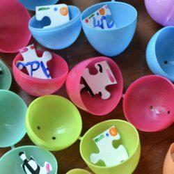 Puzzle Pieces Egg Hunt