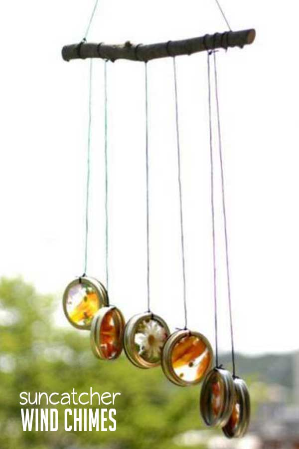 Nature Suncatcher Wind Chimes For Kids To Make Hoawg