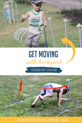How to Make a Simple Backyard Obstacle Course for Kids | HOAWG