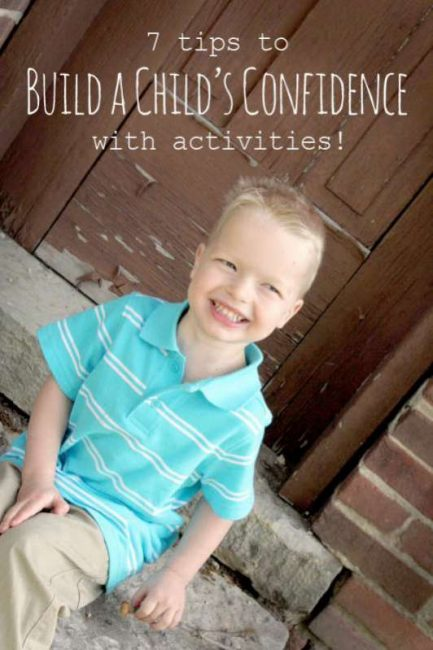 How to build confidnece in kids using activities - 7 tips