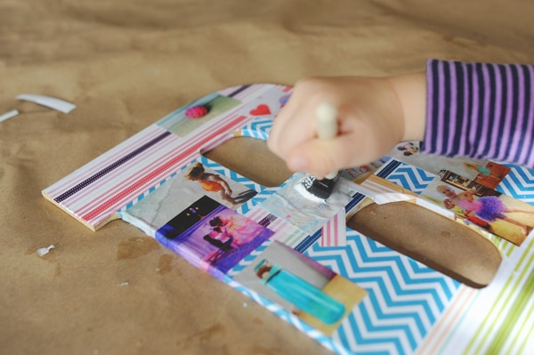 Make a photo montage of beginning letter sounds