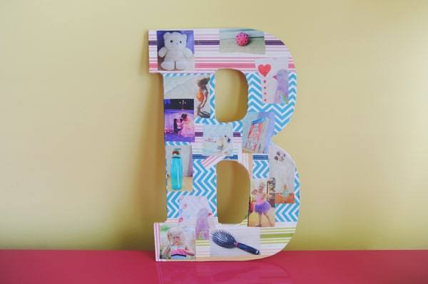 Photo montage for kids to make with beginning letter sounds