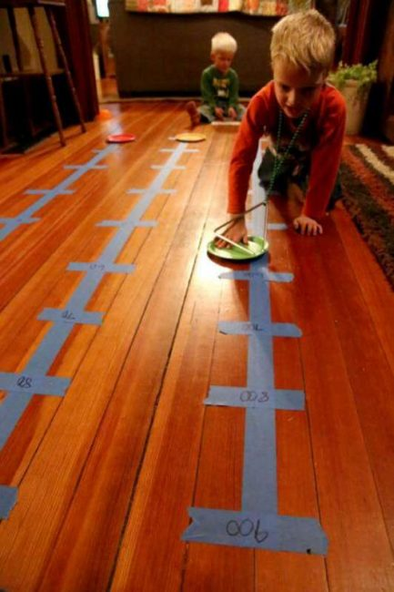 Finding the place values on the number line