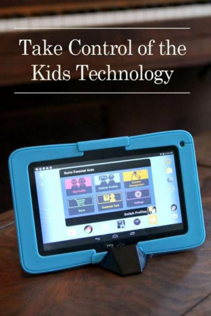 Take control of the kids technology with Kurio tablet - plus the best learning apps for preschoolers