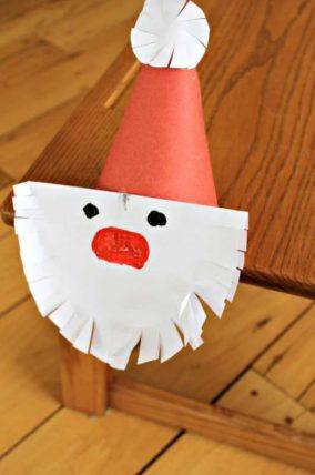 santa craft cutting practice