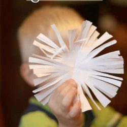Easy snowflakes for kids to cut