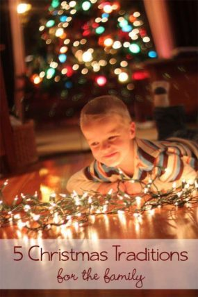 Some simple family Christmas traditions to try