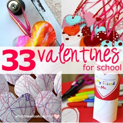 33 Valentines for School