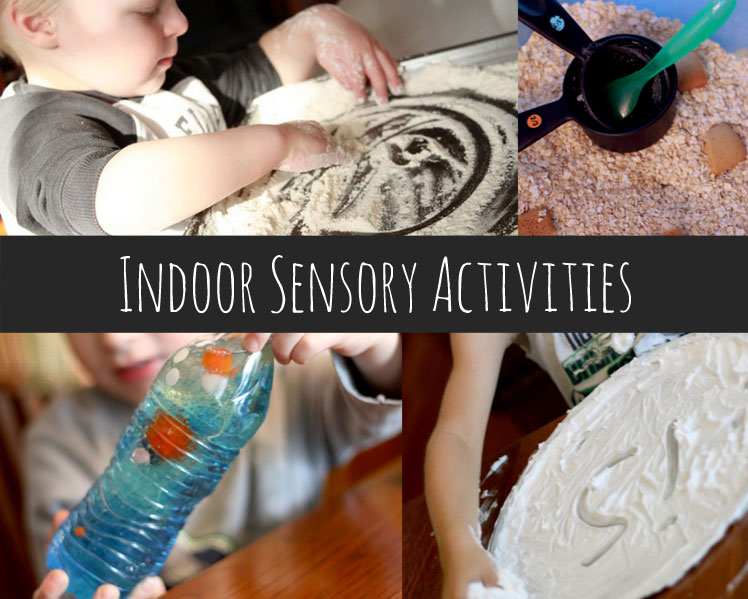 Indoor sensory activities for kids