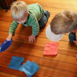 A race for all ages of kids to explore air movement