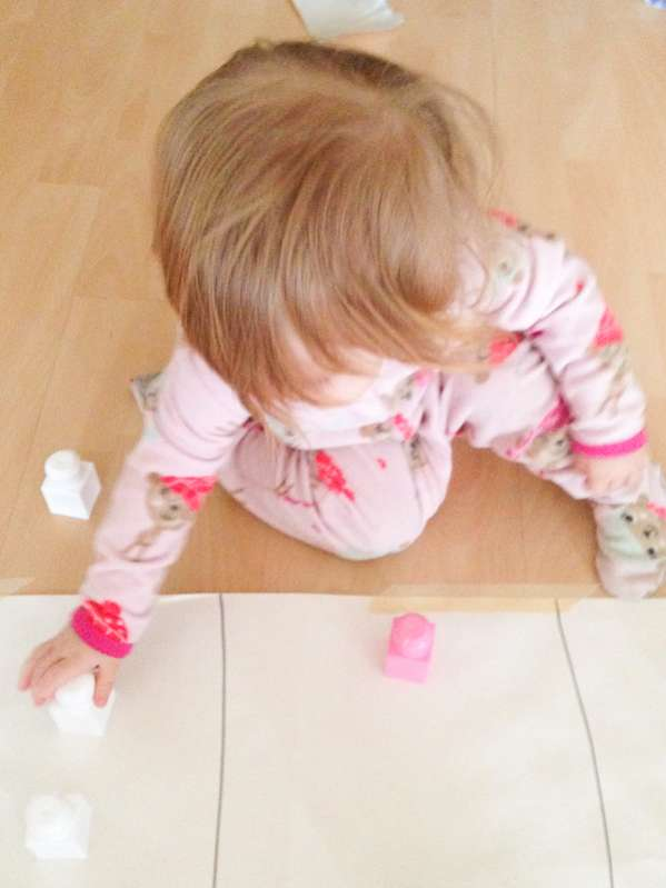 Example of how to adapt a hard maze activity to work with your toddler
