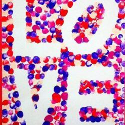 LOVE Resist Art from Momista Beginnings