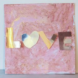 LOVE Canvas from In The Playroom - 1 of 20 love crafts