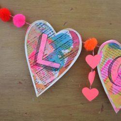 Love banner craft