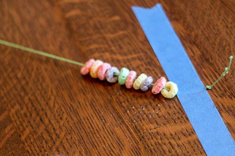 Make a Fruit Loop necklace