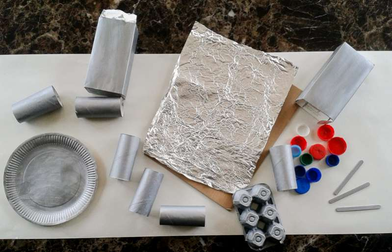 Materials in our Making Box