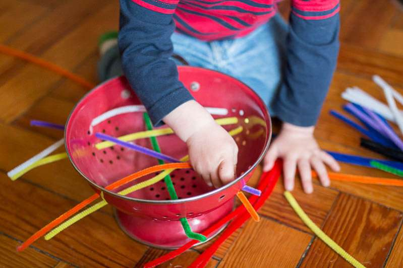 Set up a no prep activity with just a few always on-hand supplies!
